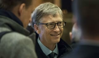 Bill Gates at Trump Tower in December 2016