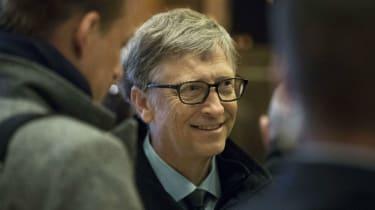 Bill Gates at Trump Tower in December 2016