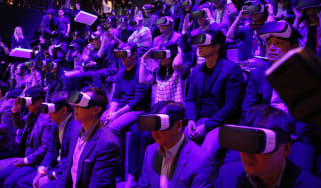 Samsung Virtual Reality headsets