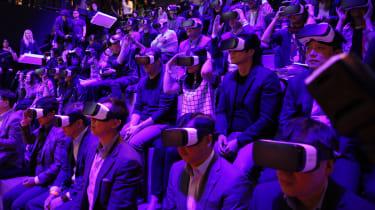 Samsung Virtual Reality headsets