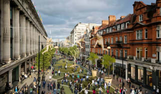 Oxford Street pedestrianised