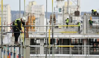 The UK's construction sector grew by 5.8% in March 2021