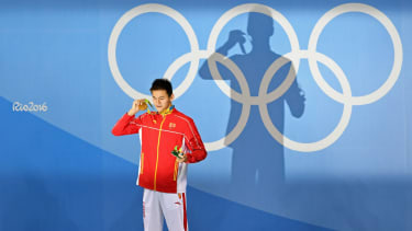 At the Rio 2016 Olympic Games Sun Yang won the gold medal in the 200m freestyle