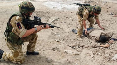 UK troops in Iraq, 2003