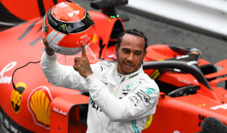 Mercedes driver Lewis Hamilton dedicated his Monaco GP win to the late Niki Lauda