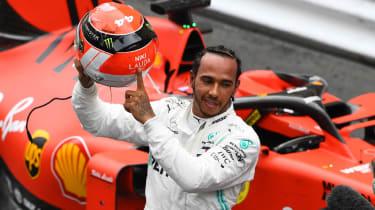 Mercedes driver Lewis Hamilton dedicated his Monaco GP win to the late Niki Lauda