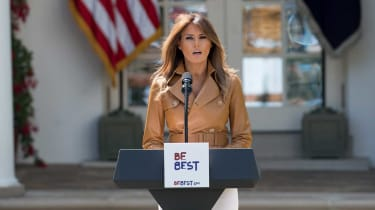 First lady Melania Trump has spoken out against White House immigration policy
