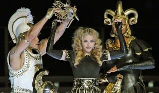 Madonna at Super Bowl halftime show