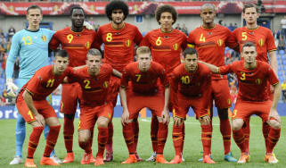 The Belgium side that took on Luxembourg last week