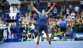 Rafael Nadal US Open tennis grand slam Dominic Thiem