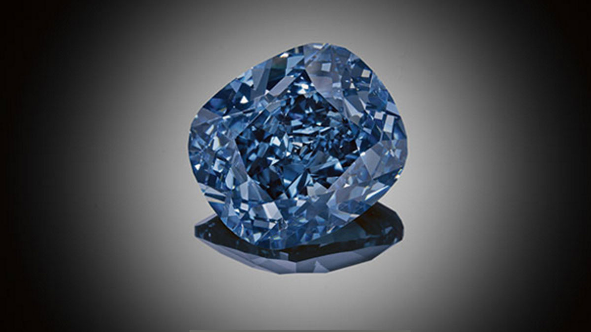 Record Breaking Blue Moon Diamond Bought For 7 Year Old The Week Uk