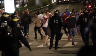 Euro 2016 fan violence Lille
