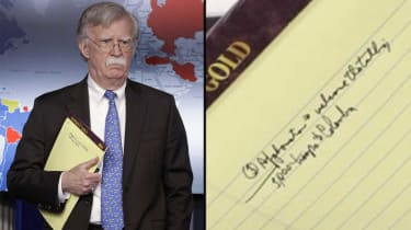 John Bolton appears to reveal US plans to send 5,000 troops to Colombia