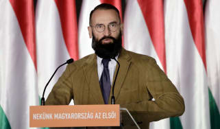 Jozsef Szajer, a former MEP from Hungary's Fidesz party