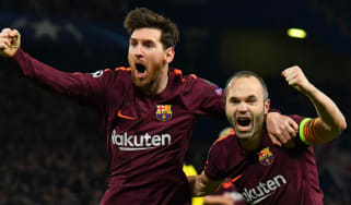 Andres Iniesta Barcelona transfer news Manchester City