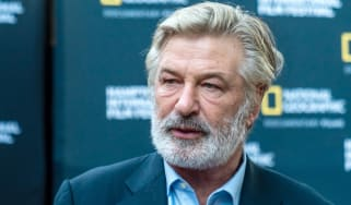 Alec Baldwin pictured prior to the accident
