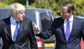 Boris Johnson and David Cameron in 2015