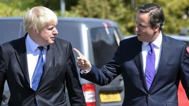 Boris Johnson and David Cameron in 2015