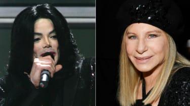 Michael Jackson Barbra Streisand
