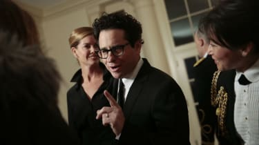 J.J. Abrams at the White House