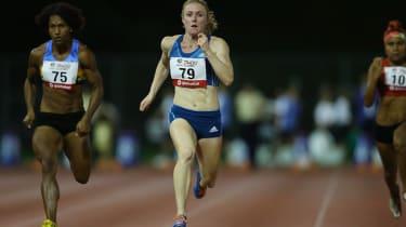 Olympic gold medallist Sally Pearson