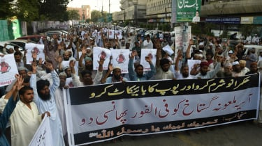 Protesters Pakistan
