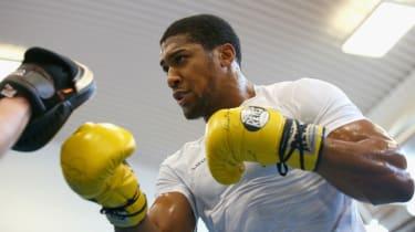 Anthony Joshua UFC boxing