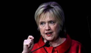 Hillary Clinton talk