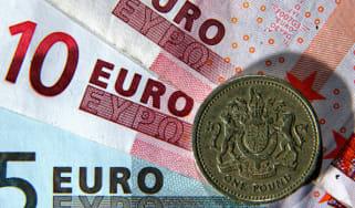 British pound euro