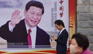 Debt and pollution are among the economic issues to be tackled by President Xi Jinping (pictured)