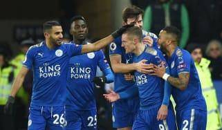 Jamie Vardy Leicester Tottenham Premier League