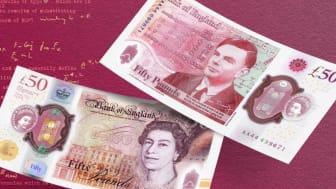 £50 Alan Turing note