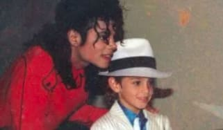 Michael Jackson with Wade Robson