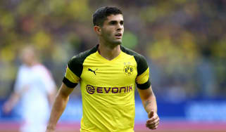 Borussia Dortmund's Christian Pulisic is a transfer target for a number of Premier League clubs