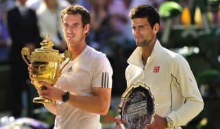 Wimbledon 2018 Andy Murray Novak Djokovic