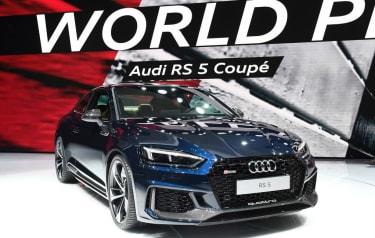Audi RS5 2017 at Geneva