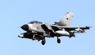 Royal Air Force Tornado aircraft