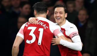 Sead Kolasinac and Mesut Ozil were unwittingly caught up in a gangland dispute