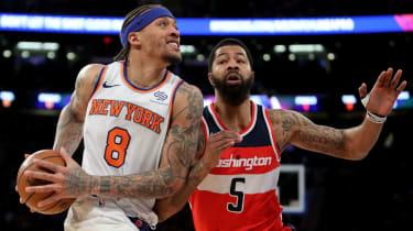 NBA London 2019 Washington Wizards vs. New York Knicks basketball