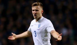 England squad Luke Shaw