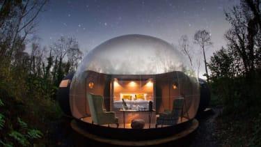 Stargazing Forest Dome, Finn Lough Resort, Northern Ireland