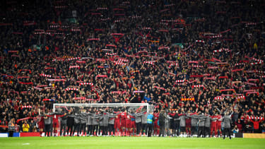 Liverpool 4 Barcelona 0 Champions League