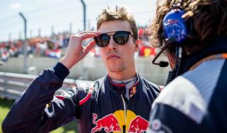 Daniil Kvyat Toro Rosso F1