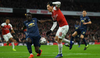 Man Utd defender Eric Bailly could be set to join Arsenal this summer