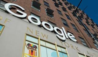 Google headquarters in New York