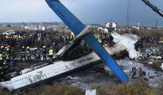 US-Bangla Airlines flight BS211 crashed in Nepal, killing at least 50 people