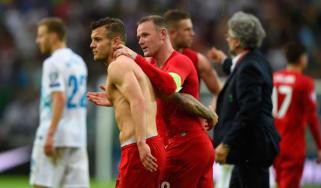 Rooney, Wilshere, England