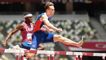 Norway's Karsten Warholm won gold ahead of American Rai Benjamin