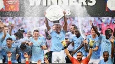 Chelsea 0 Manchester City 2 FA Community Shield