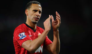 United's Rio Ferdinand
